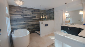 Modern Glam Master Bath Burnt Hills