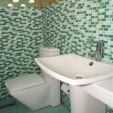 Contemporary Bathroom by Haleigh Stallworth