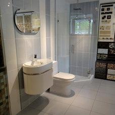 Modern Bathroom by Tiles Unlimited, Inc.