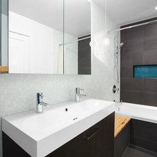Contemporary Bathroom by Marken Design + Consulting