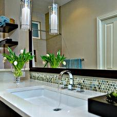 Contemporary Bathroom by Judith Balis Interiors