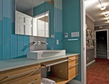 Modern Hall Bath – Upper Georgetown, DC