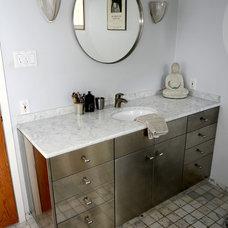 Eclectic Bathroom by Kara Mosher