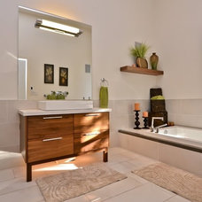 Contemporary Bathroom by Syberg Designs