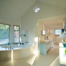 Modern Bathroom by Kerr Construction