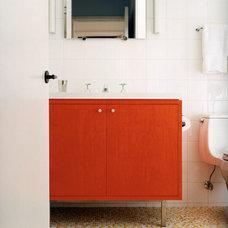Modern Bathroom by W.A. Bentz Construction, Inc.