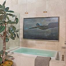 Contemporary Bathroom by Harte Brownlee & Associates Interior Design