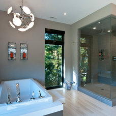 Contemporary Bathroom by Black Tusk Development Group Ltd.