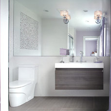 Contemporary Bathroom by Jennifer Pacca Interiors