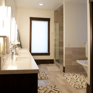 Modern in the Mountains - Master Bath