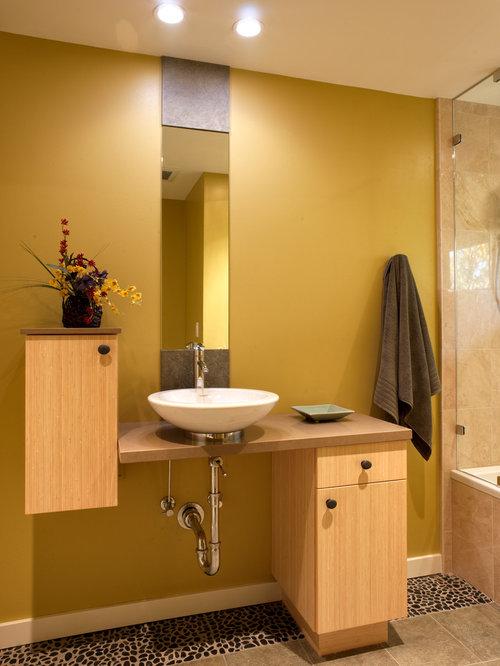 Houzz | Asymmetrical Vanity Design Ideas & Remodel Pictures