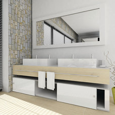 Modern Bathroom by THE KITCHEN LADY, Enriching Homes With Style