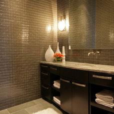 Contemporary Bathroom by Rachel Mast Design