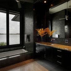 Modern Bathroom by Rachel Mast Design