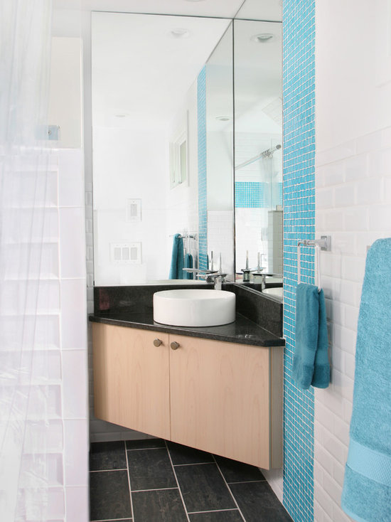 small corner sink bathroom | houzz