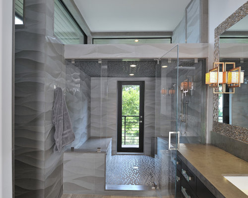 Shower Door To Outside Home Design Ideas, Pictures, Remodel and Decor