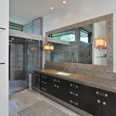 Contemporary Bathroom by Hann Builders