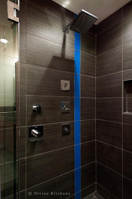 Modern Bathroom by Divine Design+Build