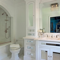 Eclectic Bathroom by Barclay Butera Interiors