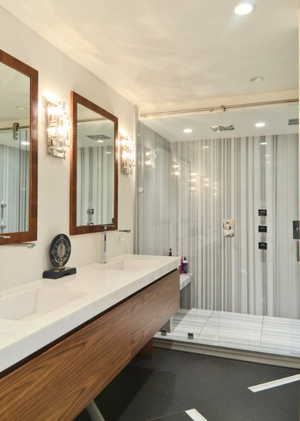 Modern Bathroom by The Coveted Kitchen