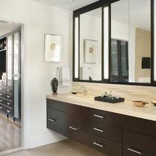 Contemporary Bathroom by Kingsley Belcher Knauss, ASID