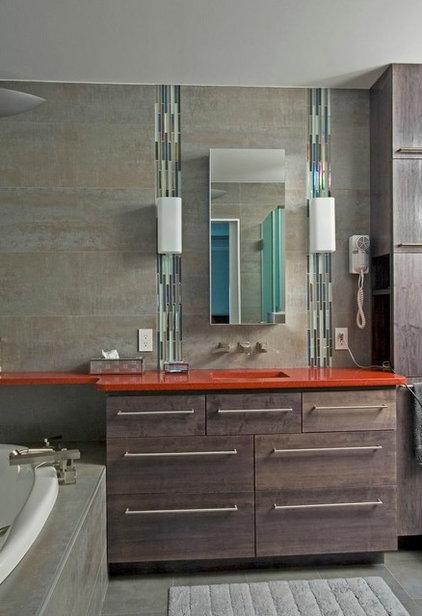 Modern Bathroom by Braitman Design Studio