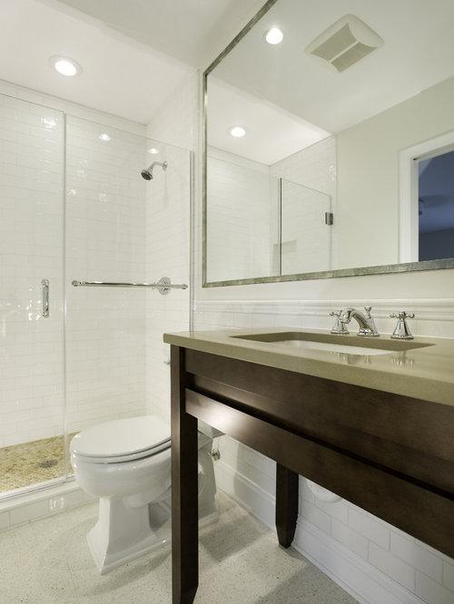 Trendy bathroom photo in DC Metro with mosaic tileHandicap Accessible Vanity   Houzz. Handicap Bathroom Vanity Photos. Home Design Ideas