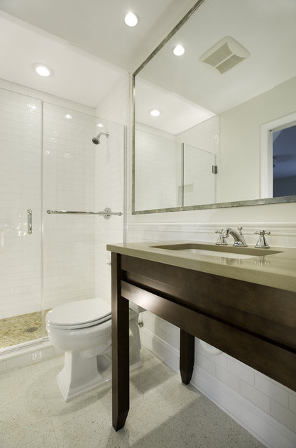 Contemporary Bathroom by Kirsten Anthony Design Group