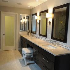 Contemporary Bathroom by LME Designs