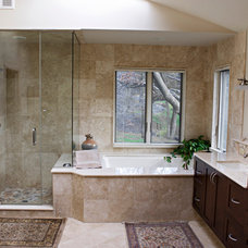 Traditional Bathroom by Maggie McManus Kitchens & Baths