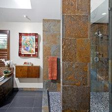 Modern Bathroom by HomeTech Renovations, Inc.