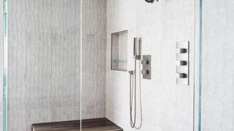 Modern Master Bathroom Los Angeles CA