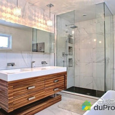 Contemporary Bathroom by Drummond House Plans