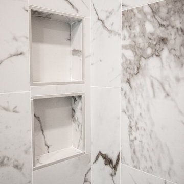 Modern Master Bathroom With Walk In Shower