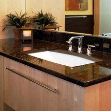 Modern Bathroom by Cranbury Design Center LLC