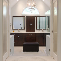 modern bathroom by NVS Remodeling & Design