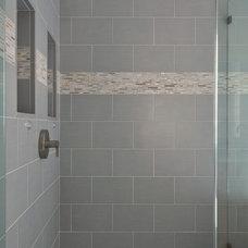Modern Bathroom by Cynthia Karegeannes, Registered Architect