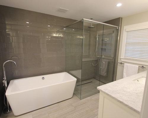 example of a minimalist bathroom design in atlanta