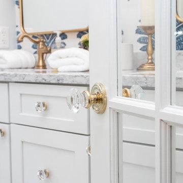 Modern Meets Vintage Master Bathroom Remodel