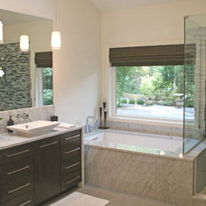 Modern Bathroom by Lee Shea Architect