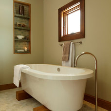 Contemporary Bathroom by Urban Chalet Inc.