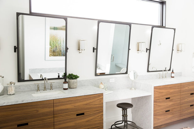 Transitional Bathroom by Studio McGee