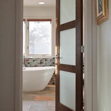 Modern Bathroom by HighCraft Builders