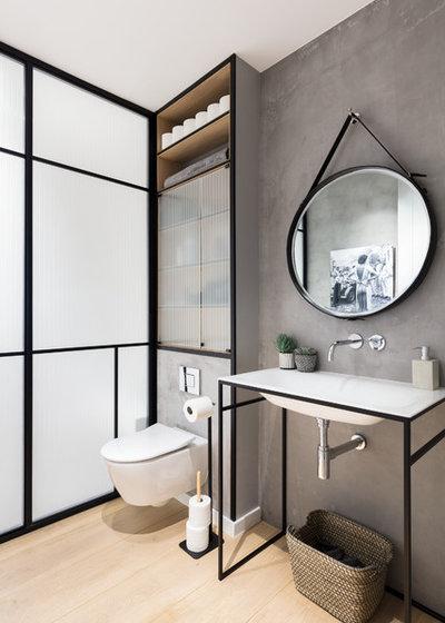 Contemporain Salle de Bain by Black and Milk | Interior Design | London