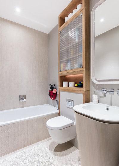 Современный Ванная комната by Black and Milk | Interior Design | London