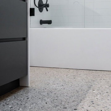 Modern Polished Concrete Floors in Colleyville Texas.
