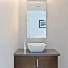 Modern Bathroom by KCS Design