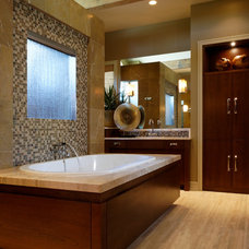 Contemporary Bathroom by Curt Hofer & Associates