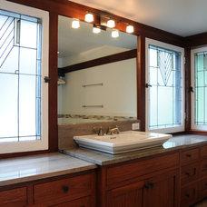 Traditional Bathroom by Jill Warren Design