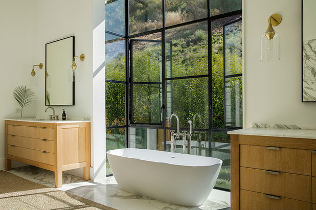 Country Bathroom by Lango Works